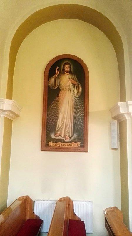obraz Bozieho milosrdenstva