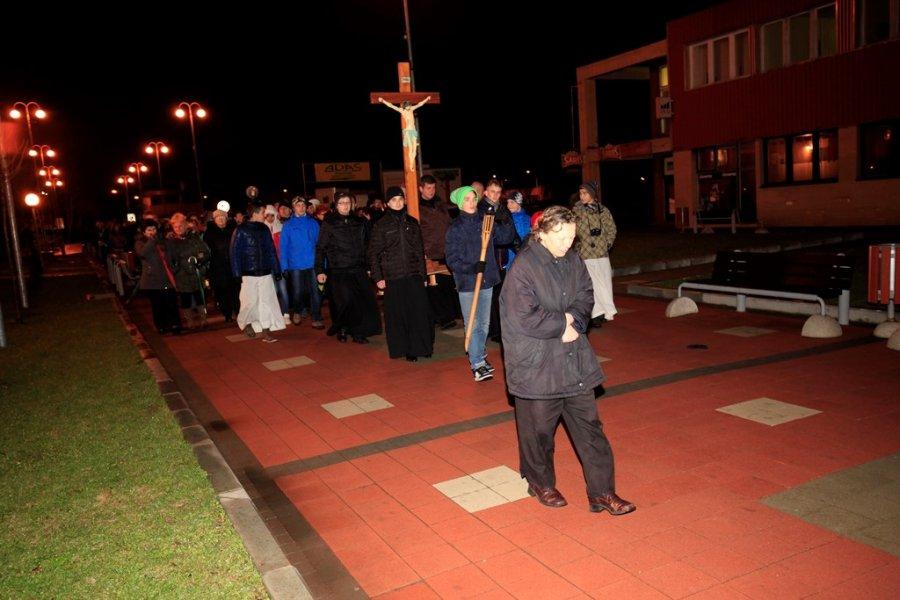 krížová cesta vo Svidníku