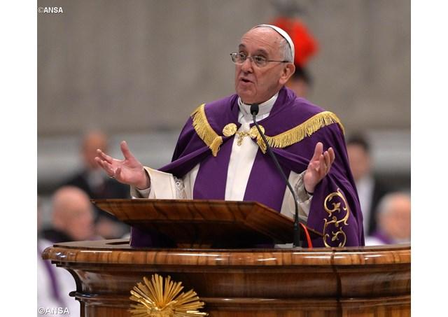 Papez Frantisek na kazni