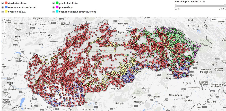 Chrámy na Slovensku
